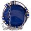 Мешок боксерский Цилиндр с кольцом и цепью ПВХ h-150см SPORTKO MP-4091 (рез.крош,тырса,d-30см,40кг, цвета в ассортименте) 2