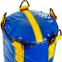 Мешок боксерский Цилиндр Тент h-130см LEV UR LV-2808 (наполнит.-ветошь, d-33см,вес-60кг, синий-желтый) 1