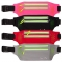 Ремень-сумка спортивная (поясная) для бега и велопрогулки С-0330  (PVC, цвета в ассортименте) 4