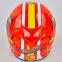 Мотошлем интеграл (full face) со съемным утеплителем Tanked Racing T112-4 ESPANA (ABS, размер XL-2XL-61-64, красный-желтый-белый) 3