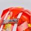 Мотошлем интеграл (full face) со съемным утеплителем Tanked Racing T112-4 ESPANA (ABS, размер XL-2XL-61-64, красный-желтый-белый) 4