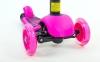 Самокат с наклоном руля Micro Mini с сиденьем 3 в 1 C-0332 цвета в ассортименте  (3-х кол, PU свет,h-65-73см) 10