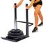 Сани тренировочные для кроссфита+петли Zelart QT1002A ECONOMY SLED (металл, основание р-р 56х44см, h-80см) 3