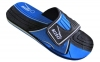 Шлепанцы подростковые KITO KWE720-D.BLUE размер 36-39 черный-синий 0