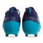 Бутсы футбольная обувь с носком 181239-3 CYAN/NAVY размер 40-45 синий-темно-синий 2