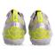 Сороконожки обувь футбольная 181217-3 SILVER/LIME размер 40-45 серебро-лимонный 2