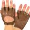 Перчатки автомобильные с открытыми пальцами BC-0132  размер M-L (застежка кнопка цвета в ассортименте) 1