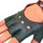 Перчатки автомобильные с открытыми пальцами BC-0132  размер M-L (застежка кнопка цвета в ассортименте) 10