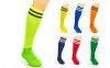 Гетры футбольные мужские CO-3256 (носок-махра, хлопок, верх-нейлон, размер 40-45, цвета в ассортименте) 0