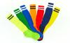 Гетры футбольные мужские CO-3256 (носок-махра, хлопок, верх-нейлон, размер 40-45, цвета в ассортименте) 3