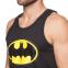 Майка борцовка спортивная мужская BATMAN CO-5885 размер S-XL-42-54 черный 1