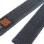 Пояс для кимоно MTO черный BO-7251 (хлопок, размер 3-8, длина-260-320см) 1