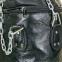 Чехол боксерского мешка Цилиндрический кожаный (без наполнителя) h-90см TWINS HBFL-M (h-90см,d-33см, черный) 2