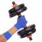 Набор гантелей со штангой и гирями 6в1 многофункциональный 10кг FED SC-80016-10 2шт по 5кг 3