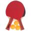 Набор для настольного тенниса 2 ракетки, 3 мяча с чехлом WEINIXUN MT-2113 (древесина, резина, пластик) 0
