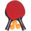 Набор для настольного тенниса 2 ракетки, 3 мяча с чехлом WEINIXUN MT-2103 (древесина, резина, пластик) 0