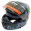 Мотошлем интеграл (full face) Tanked Racing T270 (ABS, размер L-XXL-58-64, черный-салатовый) 1