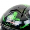 Мотошлем интеграл (full face) Tanked Racing T270 (ABS, размер L-XXL-58-64, черный-салатовый) 7