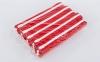 Пояс для кимоно двухцветный SP-Planeta красный-белый-красный BO-7264 (хлопок, размер 00-5, длина 220-280см) 2
