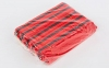 Пояс для кимоно двухцветный SP-Planeta красный-черный-красный BO-7265 (хлопок, размер 00-5, длина 220-280см) 2