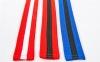 Пояс для кимоно двухцветный SP-Planeta красный-черный-красный BO-7265 (хлопок, размер 00-5, длина 220-280см) 4
