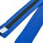 Пояс для кимоно двухцветный SP-Planeta синий-черный-синий BO-7266 (хлопок, размер 00-5, длина 220-280см) 1