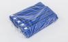 Пояс для кимоно двухцветный SP-Planeta синий-черный-синий BO-7266 (хлопок, размер 00-5, длина 220-280см) 2
