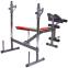 Скамья атлетическая с приставкой Скотта Zelart BH2050 (металл,PVC,р-р 176x121x93см,вес польз. до 100кг)уп. в 1 ящ. 1