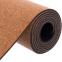 Коврик для йоги Пробковый каучуковый двухслойный 4мм Record FI-7156-9 (размер 1,83мx0,61мx4мм, пробковое дерево, каучук, с принтом Лунный Цикл) 1