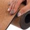 Коврик для йоги Пробковый каучуковый двухслойный 4мм Record FI-7156-9 (размер 1,83мx0,61мx4мм, пробковое дерево, каучук, с принтом Лунный Цикл) 2