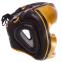 Шлем боксерский с полной защитой кожаный TWINS FHG-TW4GD-BK S-XL золотой-черный 0
