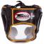 Шлем боксерский с полной защитой кожаный TWINS FHG-TW4GD-BK S-XL золотой-черный 2