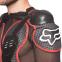 Моточерепаха мотозащита FOX BC-710 (PL, пластик, сетчатая ткань, р-р L-2XL (RUS-46-52), черный-красный) 3