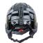 Шлем горнолыжный с механизмом регулировки MOON MS-2947-S (ABS, p-p S-53-55, черный-золотой) 1
