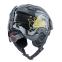 Шлем горнолыжный с механизмом регулировки MOON MS-2947-S (ABS, p-p S-53-55, черный-золотой) 2