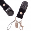 Шнурок для ключей, телефона AKRAPOVIC M-4559-23 (эластичная, растяг. резина l-50см, черный) 1