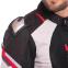 Мотокуртка текстильная с защитой NERVE 495-GR (PL, PVC, L-2XL-46-52, светло-серый-красный) 3
