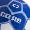 Мяч футбольный №5 PVC Сшит машинным способом CORE ATROX CRM-053 (№5, 5сл., белый-синий) 1