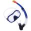 Набор для плавания маска с трубкой Zelart M171-SN132-1-SIL (термостекло, силикон, пластик, цвета в ассортименте) 0