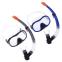 Набор для плавания маска с трубкой Zelart M171-SN132-1-SIL (термостекло, силикон, пластик, цвета в ассортименте) 12