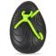 Лопатки для плавания круглые MadWave EGG TRAINER M074301 (полипропилен, силикон, р-р 15,5x11см, черный) 1