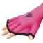 Перчатки для аквафитнеса MadWave M074603 S-L розовый-черный 3