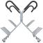 Подставка (стойка) для штанг фитнес памп Zelart RK4060E (металл, р-р 130х116х119cм) 2