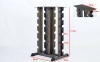 Подставка (стойка) четырехсторонняя для гантелей Zelart RK2128 (металл, р-р 113х66х58см) 8