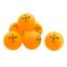 Набор мячей для настольного тенниса 6 штук DUNLOP MT-679175 1star CLUB CHAMP (пластик, d-40мм, оранжевый) 0