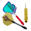 Дротики для игры в дартс цилиндрические BL-3300 Baili (латунь,вес 20гр,3шт.,+3хвост,+6опер, футляр) 0
