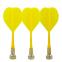 Дротики для игры в дартс цилиндрические магнитные 3шт BL-M302 (латунь, пластик, цвета в ассортименте) 1