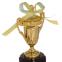 Кубок спортивный с ручками и крышкой STAR C-855 (металл, пластик, h-17см, b-8см, d чаши-5см,золото, серебро, бронза) 2