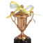 Кубок спортивный с ручками и крышкой STAR C-855 (металл, пластик, h-17см, b-8см, d чаши-5см,золото, серебро, бронза) 9