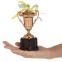 Кубок спортивный с ручками и крышкой STAR C-855 (металл, пластик, h-17см, b-8см, d чаши-5см,золото, серебро, бронза) 10